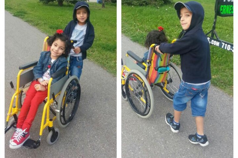 Julia's Cerebral Palsy Fund by Marwa   in Edmonton