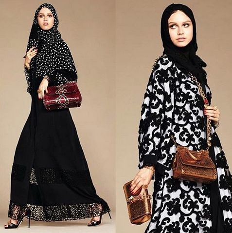 Dolce & Gabbana Launches First Line Of Hijabs And Abayas by Marwa   in Edmonton