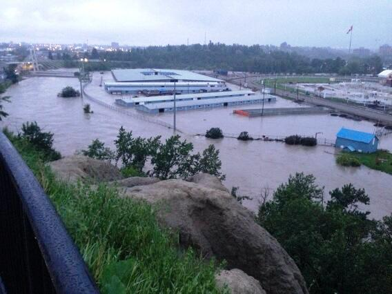 Insurers ask for government help to cover high-risk flood areas by Ahmed Fattouh in Edmonton AB