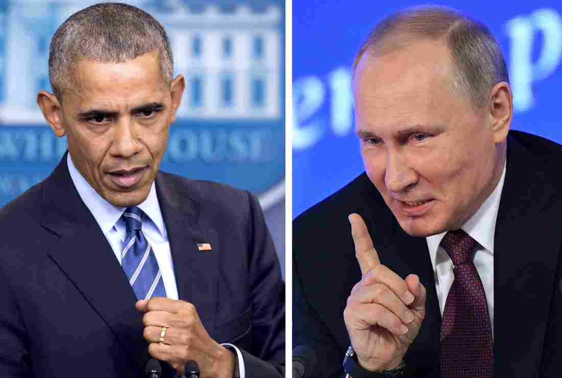 Putin says Russia won't expel U.S. diplomats in hacking flap by Ahmed Fattouh in Edmonton AB