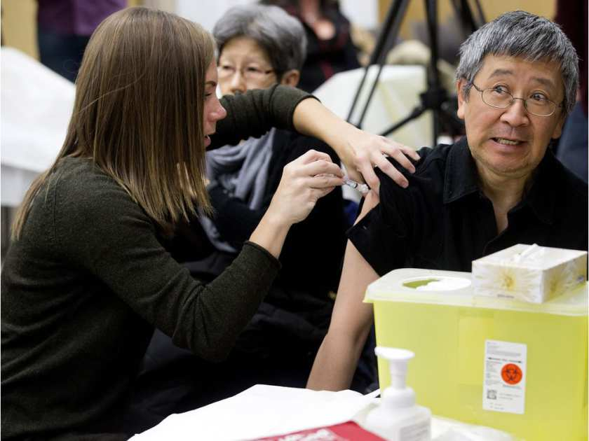 Alberta flu deaths at more than 30 by Ahmed Fattouh in Edmonton AB
