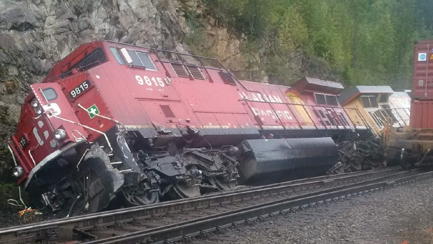 TSB finds train crash near Rogers Pass caused by communication breakdown by Ahmed Fattouh in Edmonton AB