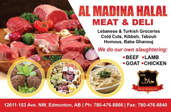 Edmonton Halat Meat - Al Madina Halal Meat