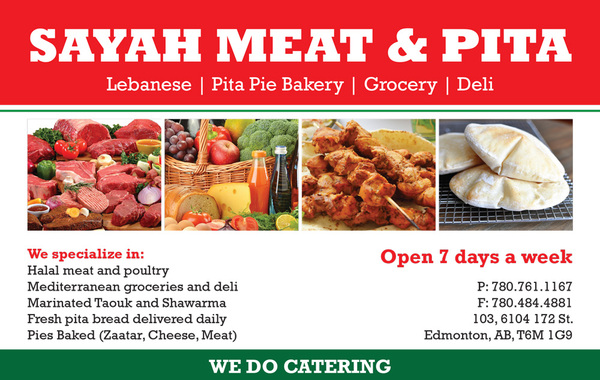 Sayah Halal Meats - FOOD - HALAL MEATS - Directory