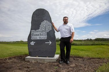 Edmonton cemetery is the first in the city to offer green